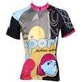 Женская велосипедная рубашка с коротким рукавом PALADIN  велосипедная рубашка со стразами