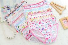 Chirdren шт./лот) underwear трусы трусики девушки хлопок дети