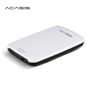 Free Shipping On Sale 2.5'' ACASIS Original 80GB Storage USB2.0 HDD Mobile Hard Disk External Hard Drive Have switch power