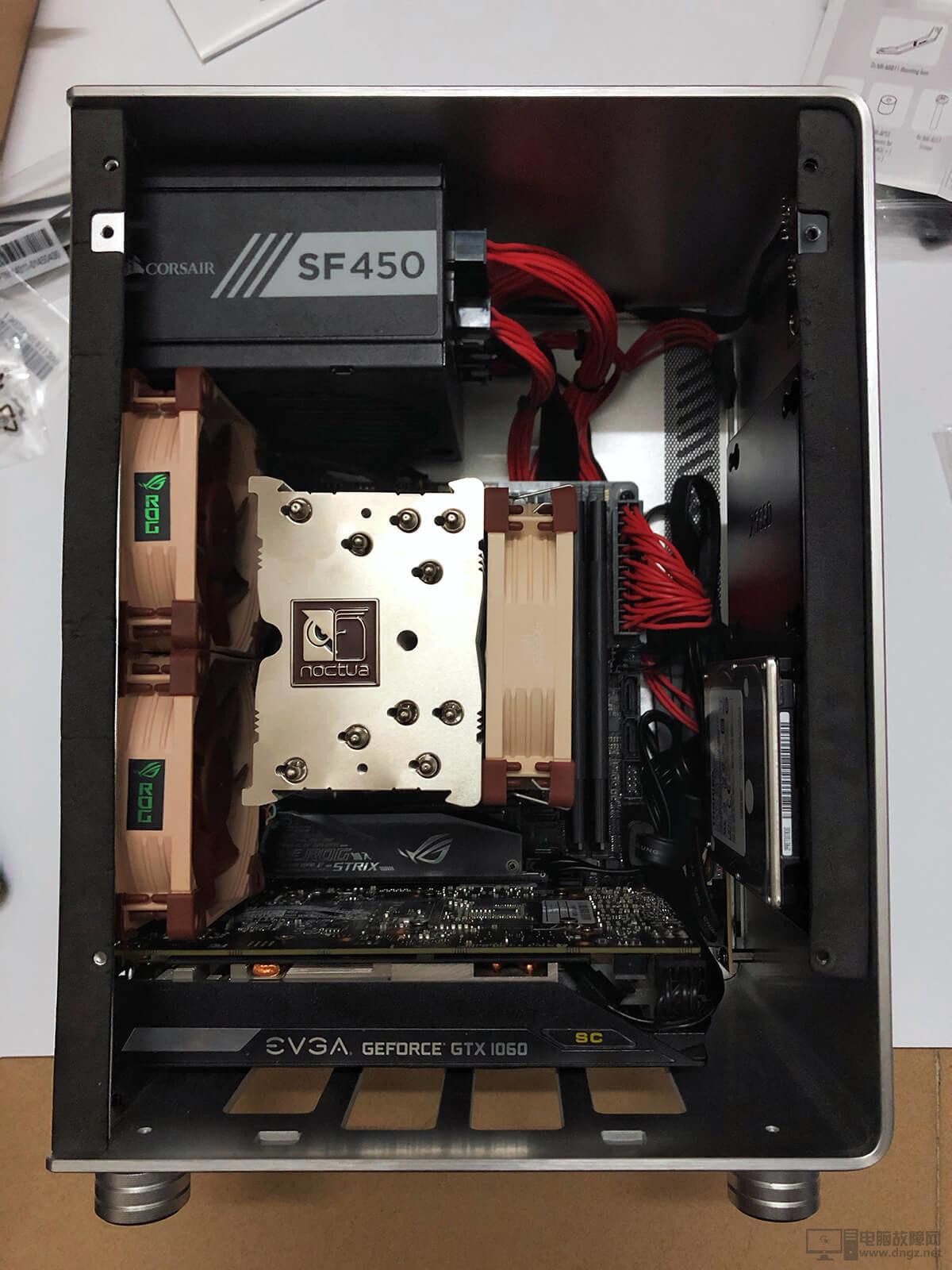 AMD YES! ITX小機箱電腦配置裝機作業21