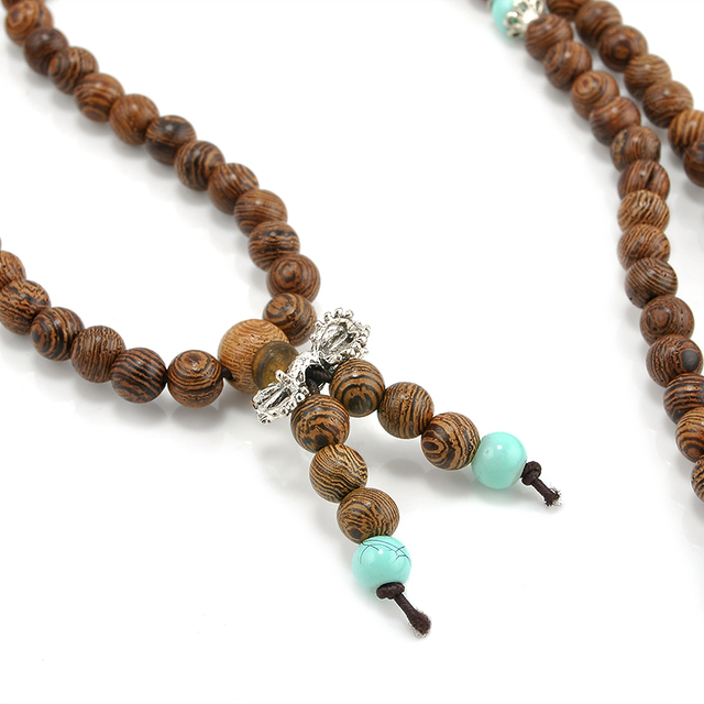Sandalwood Meditation Beaded Bracelet