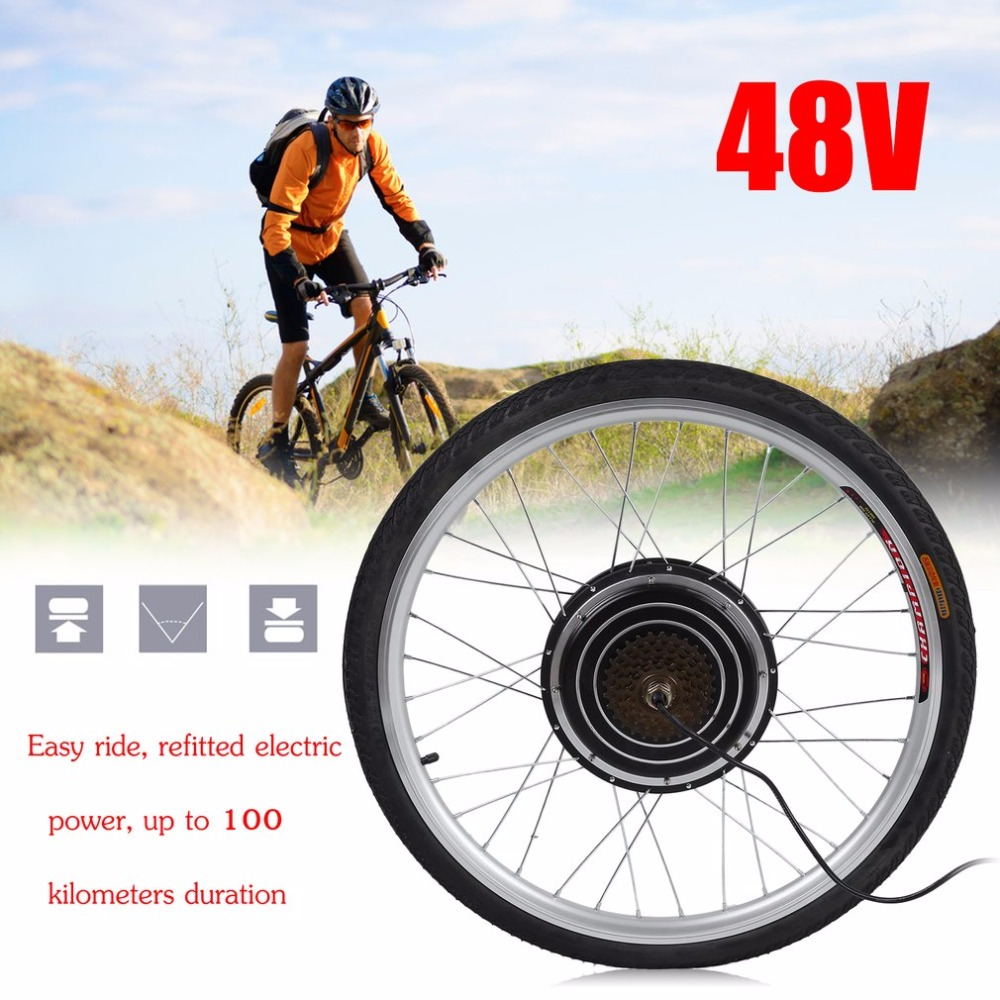1000w 48v Professional Electric Bicycles E Bike 26inch