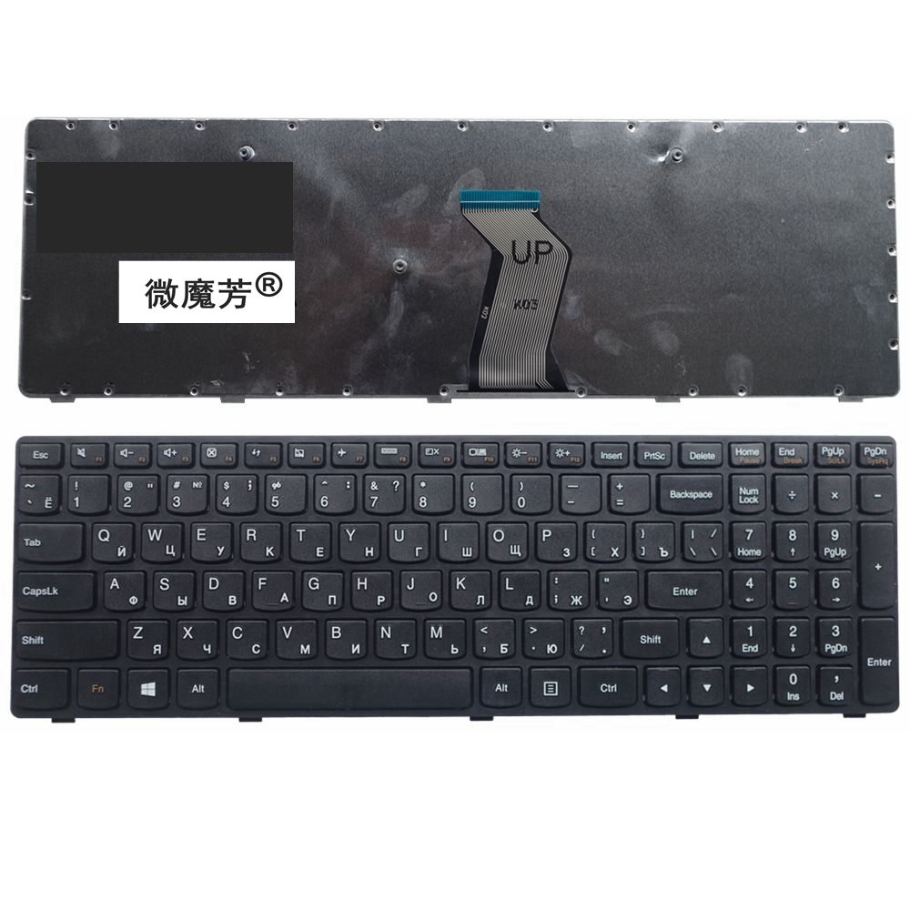 Russia NEW Keyboard FOR LENOVO G500 G510 G505 G700 G710 G500A G700A G710A G505A RU laptop keyboard (NOT FIT G500S) new original laptop lcd cable flex for lenovo g700 g700a g710 g710a 1422 01dt000