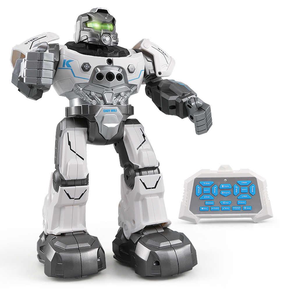 JJR/C R5, WILI интеллигентая (ый) RC робот программируемое дистанционное управление Авто Follow жест Сенсор танцевальной музыки RC игрушка детский подарок