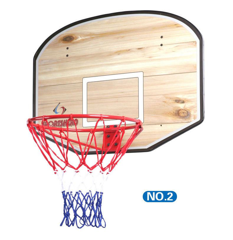 Adult Mini Basketboard Hanging backBoard Wooden MDF board with solid iron frame Outdoor standard Basketball board set