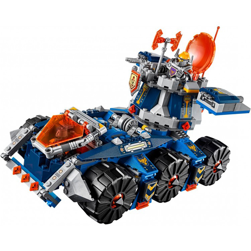 14022 10520 Nexo Knights Axls Tower Carrier Combination Building Blocks Brick Kits Educational Toys For Children Gifts 70322