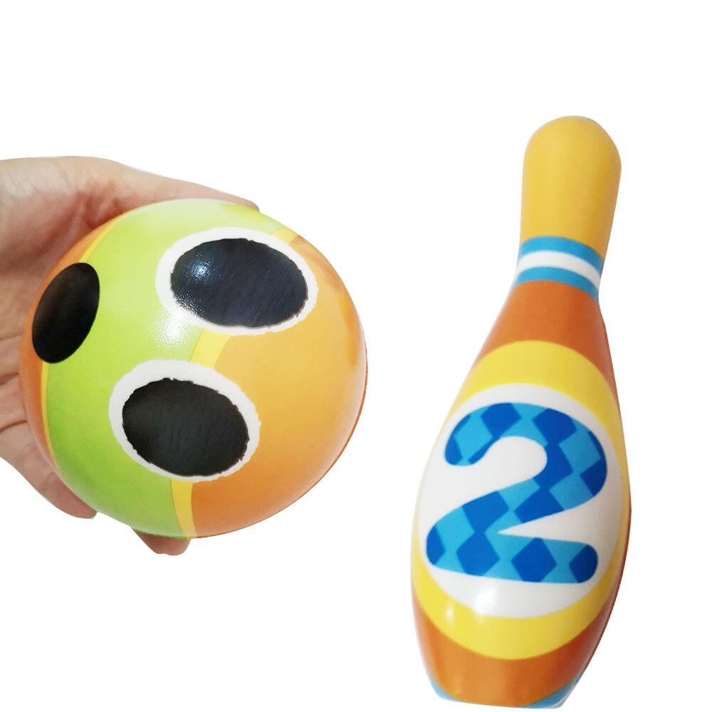 Карманный мраморный Боулинг PU модель Боулинг мяч костюм для игрушка для дома Прямая