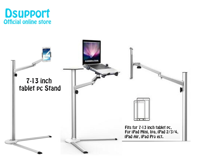 UP 8 Multifunction 3in1 Computer Floor Stand for All