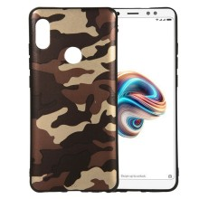 Case For Xiaomi Redmi Note 6 Pro Soft camouflageTPU Silicone Bumper Cover