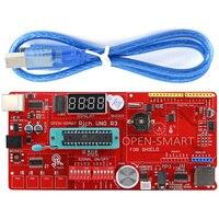 Rich Multifunction UNO R3 Atmega328P Development Board For Arduino UNO R3 With MP3 DS1307 RTC Temperature