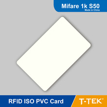 Rfid-тегов ISO пластиковые карты частота 13.56 мГц ISO14443A бесконтактных карт для контроля доступа, M1 s50, Печать rfid-тегов смарт-карты