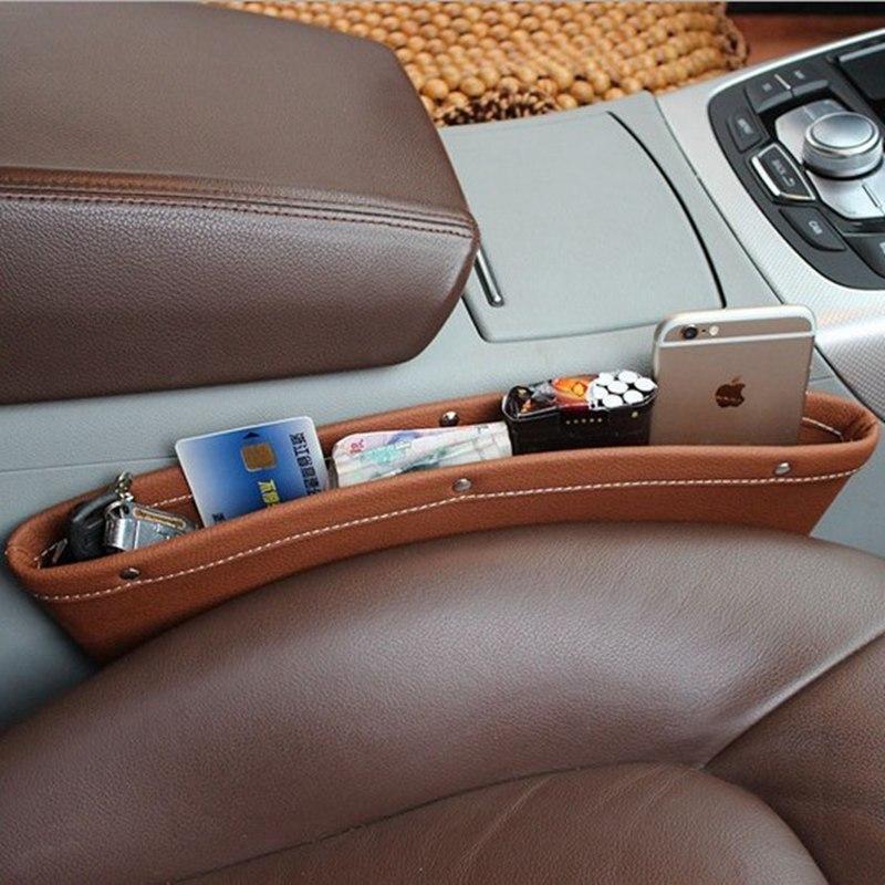 Urijk Auto Mini Pattumiera di Immagazzinaggio Del Telefono Mobile Contenitore Box Multi-uso Tools Organizzatore di Stoccaggio Auto Accessori Auto