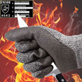 NMSafety 4 Pairs Of CE Standard level 5 cut resistant gloves