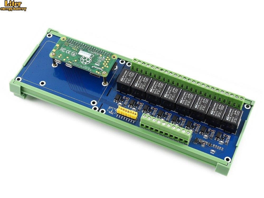 Raspberry Pi Placa De Expansão, 8-ch Relé canal, para Raspberry Pi +/B +/2B/3B/3B +, LED Integrado, formulário de contato SPDT-NO, NC