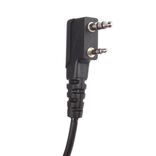 BAOFENG UV-82 Earpiece Dual PTT Headset with Mic 2Way Radio Walkie Talkie 10KM Comunicador Accessories for UV82 UV8D UV 82 UV 8D