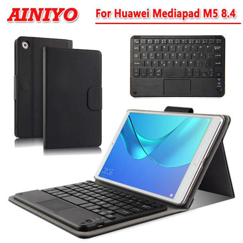 For Huawei Mediapad M5 8.4Case Wireless Bluetooth Keyboard Cover for Huawei Mediapad M5 8.4 SHT-AL09 SHT-W09 protective case for huawei mediapad m5 8 4 sht al09 sht w09 full lcd display touch screen digitizer assembly page 5