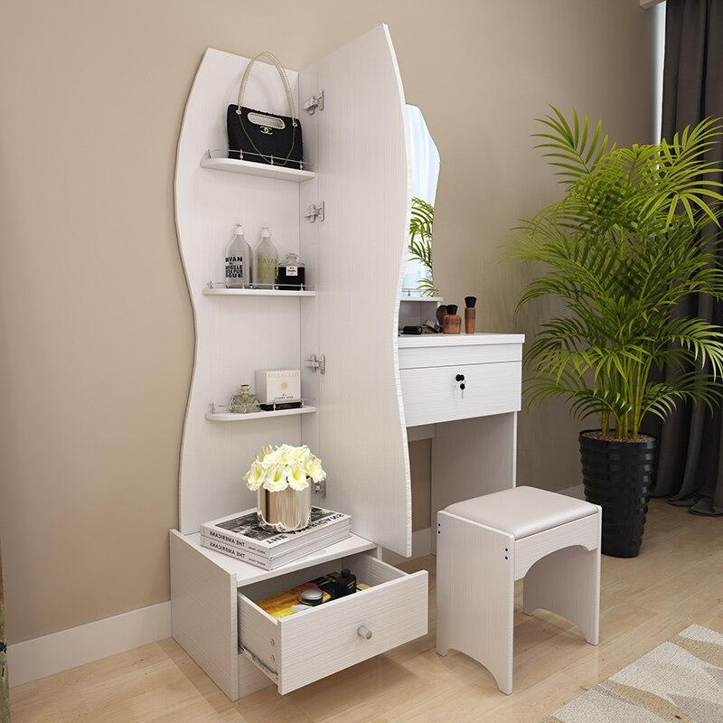 Verwonderend Dressing table white modern simple fashion multifunctional small PK-42