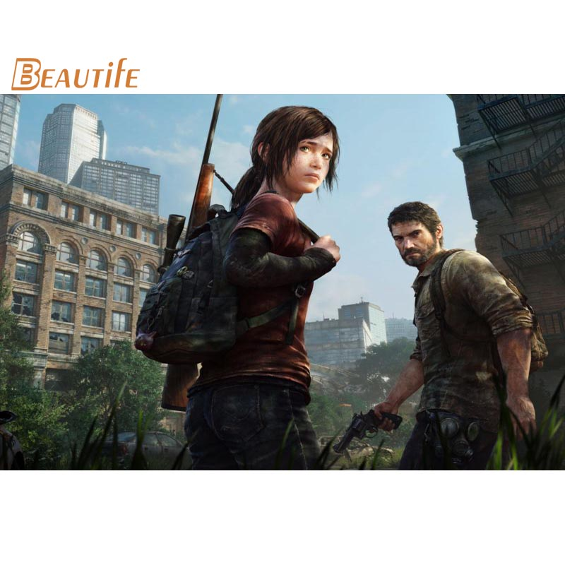The Last Of Us 2 Hot Game Art Silk Poster Print 13x18 20x27 inches Wall Decor