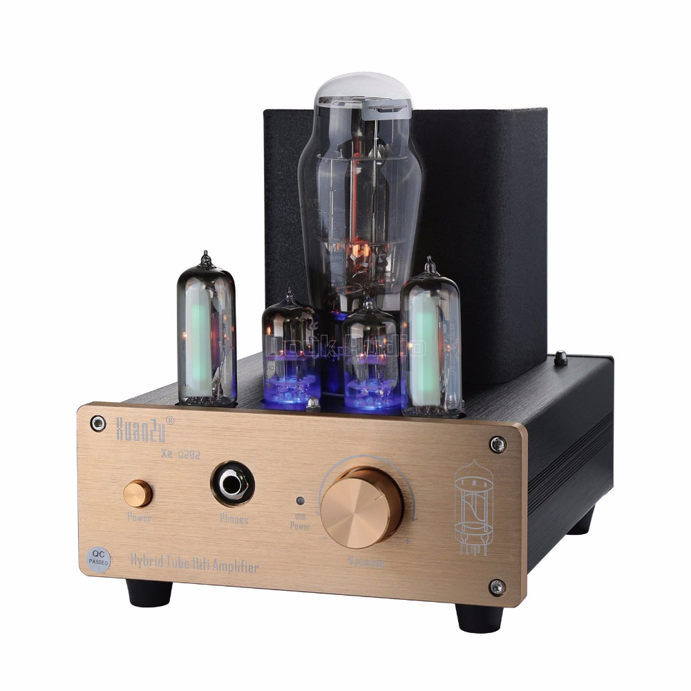 2018 Nobsound Hybrid Class A 6N5P+6N3 Valve Tube Pre-amplifier USB DAC Audio Decorder HiFi Headphone Amp 1pcs high quality 6n3 6z4 tube valve pre amp class a audio stereo preamplifier include transformer g2 007