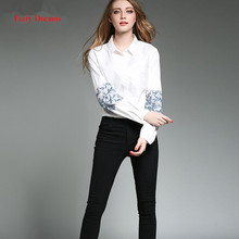 Fairy Dreams Womens Shirt White Blusas 2017 Spring Summer Print Long Sleeve Fashion Blouses Office Ladies Fashion Clothing