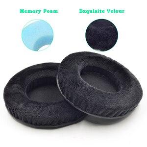 Image 2 - Defean ทั้งหมดขนาด Velour Memory Foam Earpads เหมาะสำหรับหูฟัง Sennheiser,AKG,HifiMan,ATH,Philips, fostex,หูฟัง Sony