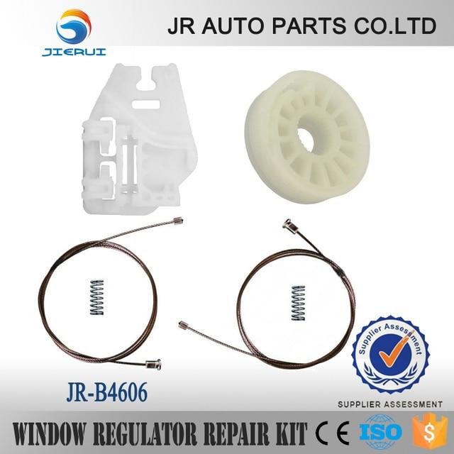 JIERUI CAR PARTS FOR BMW E46 ELECTRIC WINDOW REGULATOR REAR-LEFT WINDOW REGULATOR REPAIR KIT SET NEW