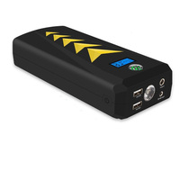 24000mAh Car Jump Starter 800A Peak Portable Auto Battery Booster Jumper With Dual Smart Charging Ports LED SOS Flashlight