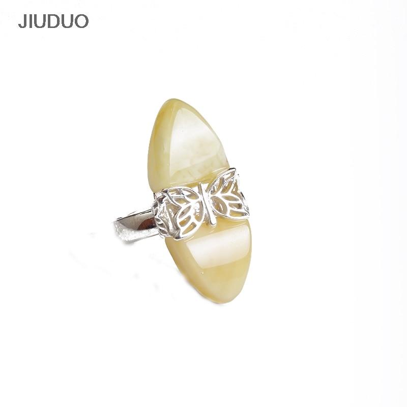 cda994e1a Přírodní jantarové prsteny 925 mincovních krásných dámských motýlích ...