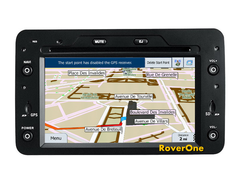 Pour Alfa Romeo Spider Brera 159 Sportwagon Android 7.1 autoradio stéréo DVD GPS Navigation Sat Navi système multimédia Central