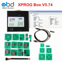 Последний Xprog M V5.74 коробка ECU чип тюнинг инструмент обновление версии Xprog V5.55 X prog V5.60 V5.70 V5.72 ECU Программист Полный адаптер