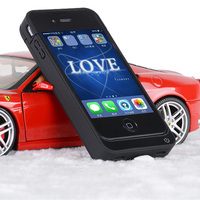 NEWDERY CN Ship 4000mAh External Power Bank Charger Pack Backup Battery Case For Iphone 4 4s