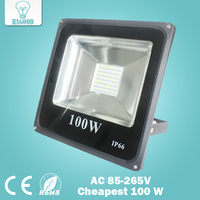 Super Waterproof LED Flood Light 100w Warm White Cool White Outdoor Lighting Led Spotlight AC 100