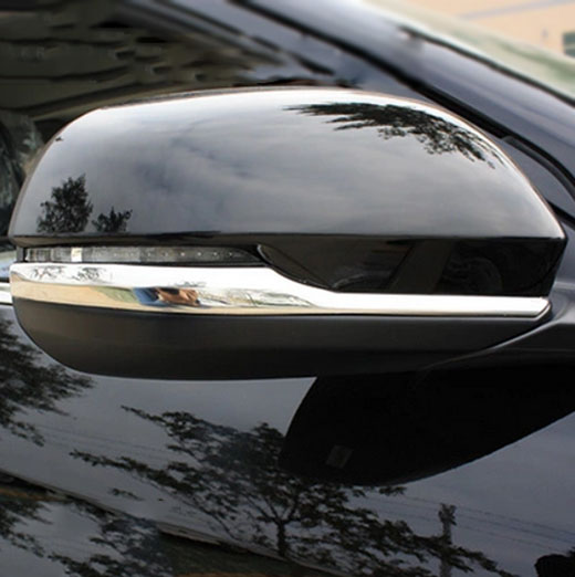 ACCESSORIES 2PC FIT FOR <font><b>HONDA</b></font> HR-V LX VEZEL 2014 2015 2016 2017 2018 2019 <font><b>SIDE</b></font> <font><b>MIRROR</b></font> CHROME COVER PROTECTOR TRIM GARNISH image