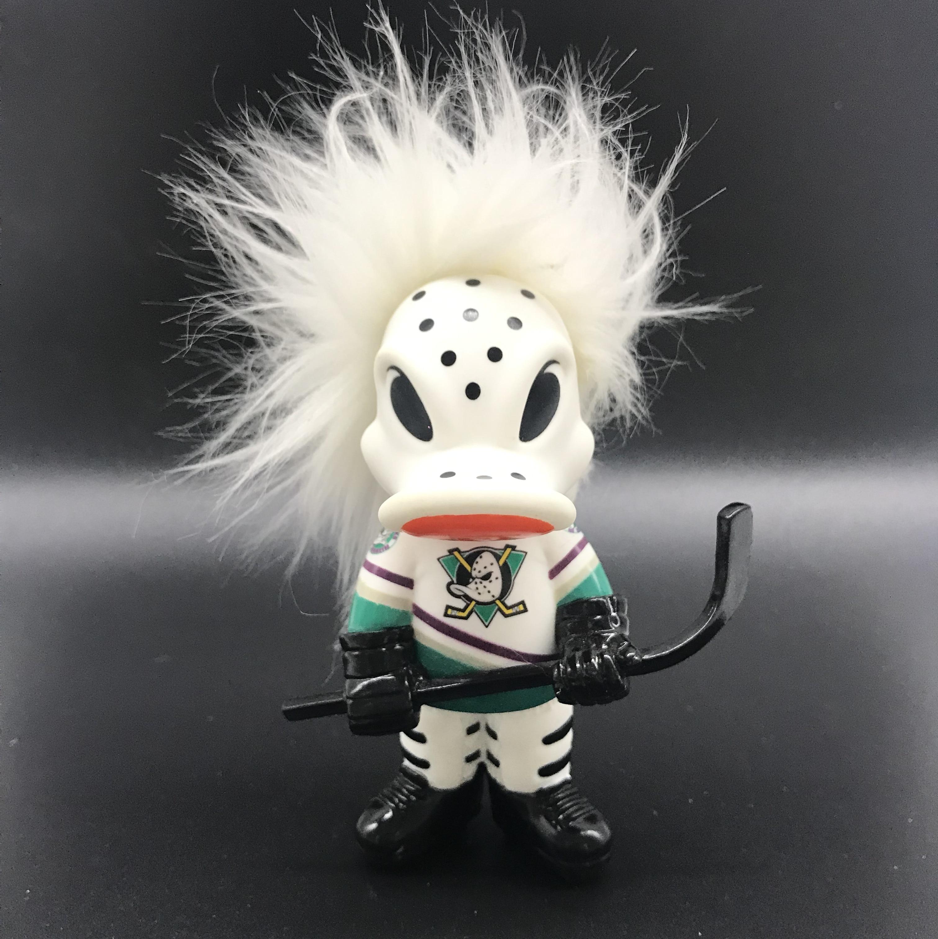 AOSST WILD WING troll doll model nhl Anaheim Ducks fashion toy souvenier nib collector NO BOX