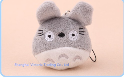 100PCS Mini 3 4CM Japan CAT Plush Stuffed TOY DOLL Phone Charm Strap Lanyard Pendant BAG