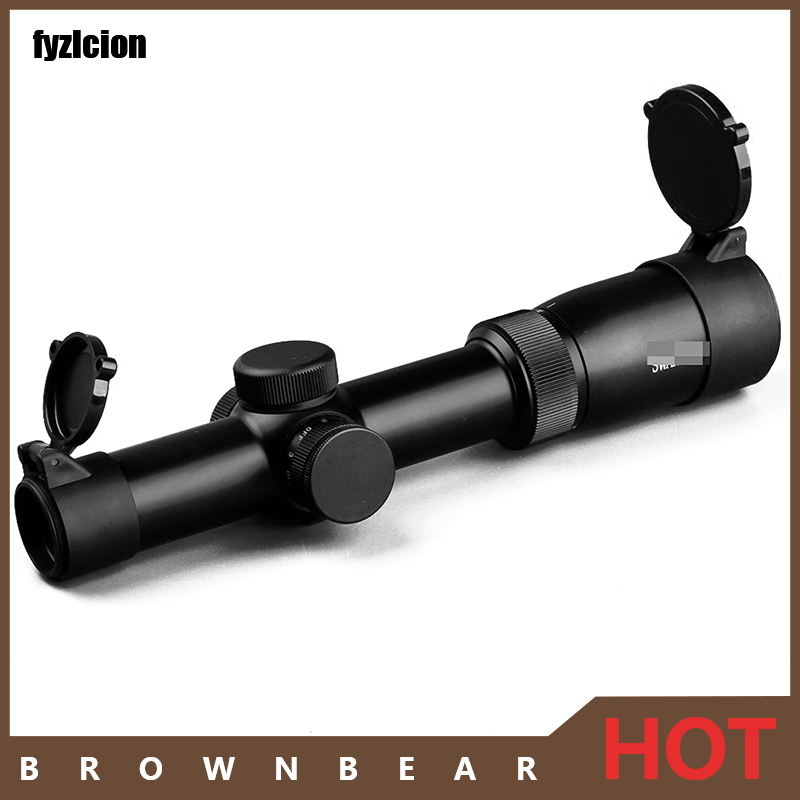 Tactical Rifle Scope 1-6x24IRZ3 F101 Optical Circle Dot Punctuate Differentiation Sight Glass Reticle Hunting Riflescope tactical diana 4x32 riflescope one tube glass double crosshair reticle optical sight rifle scope