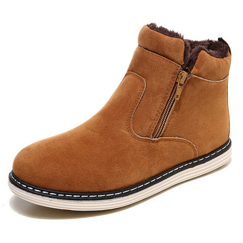 2015 Winter New arrival Warm Men Cotton shoes snow boots for men male casual shoes zapatos hombre zapatillas  NX133  plush casual suede shoes boots mens flat with winter comfortable warm men travel shoes patchwork male zapatos hombre sg083