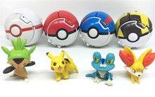 Boule à piquer Anime Pokemon poupées poche monstres piquer Cosplay accessoires jouets toucher peut retourner et exploser
