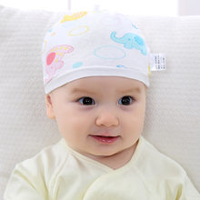 100% cotton Baby 0-3 months hat New born Baby Cap infant clothes accessories newborn boys girls Spring summer Autumn hats(China)
