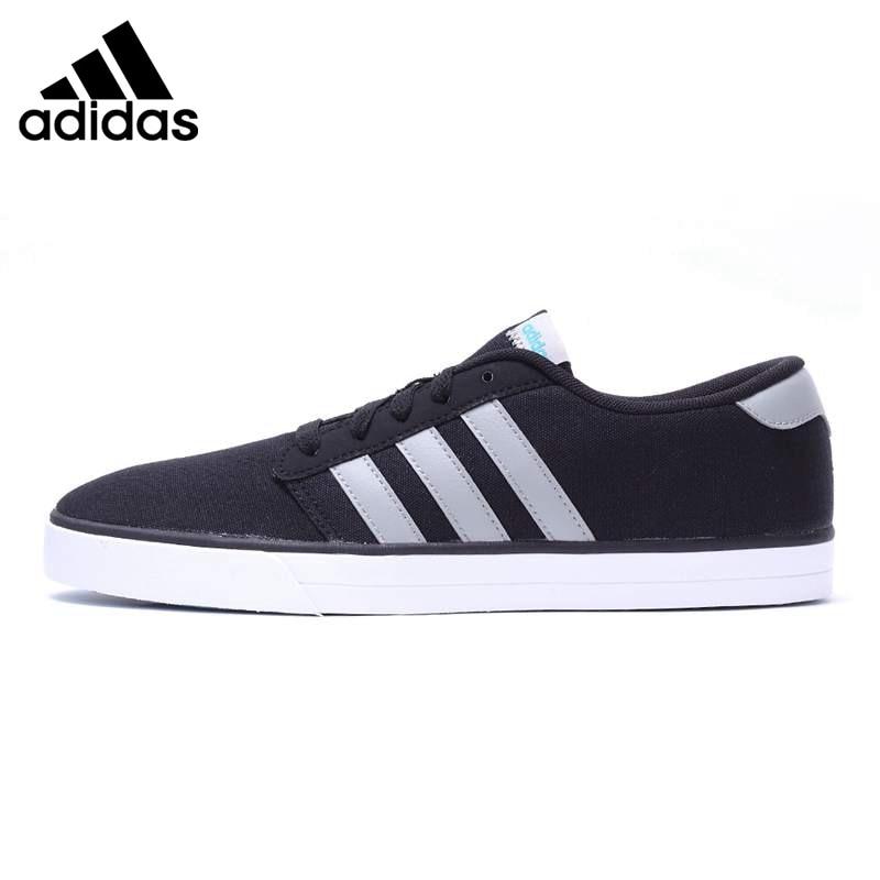 ... Original Nouvelle Arrivée font b Adidas b font NEO Étiquette Hommes de  Planche À Roulettes Chaussures 5445b478cdf