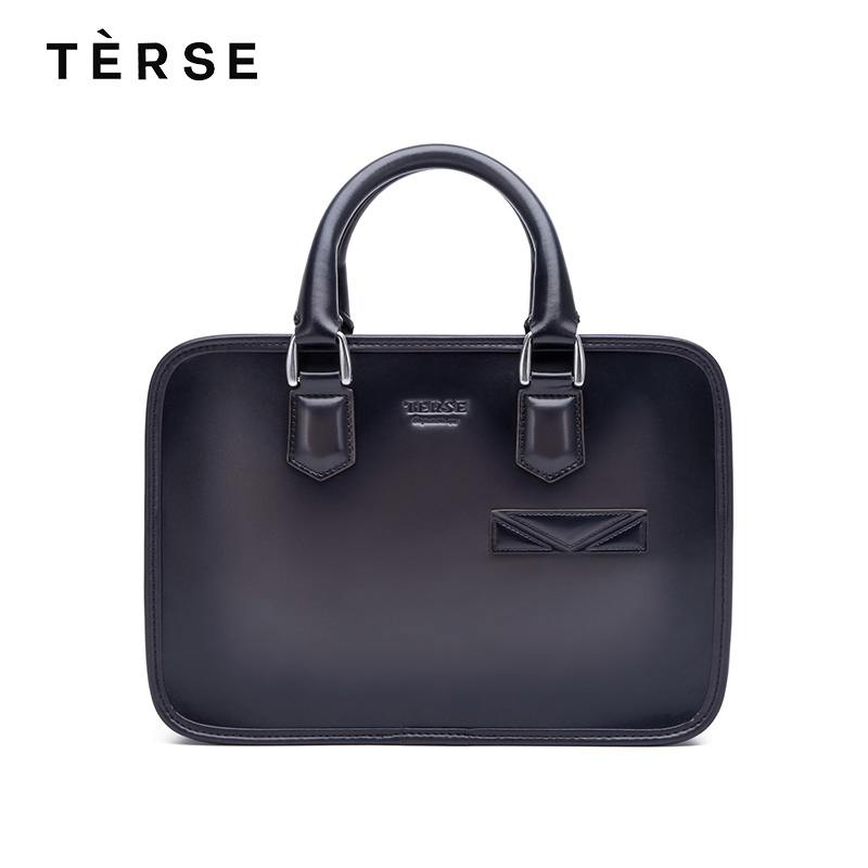 TERSE 2018 NEW Handbag For Men Genuine Leather Briefcase Cross Body Bag Luxury Business Hand Bags Customize Logo TS9622