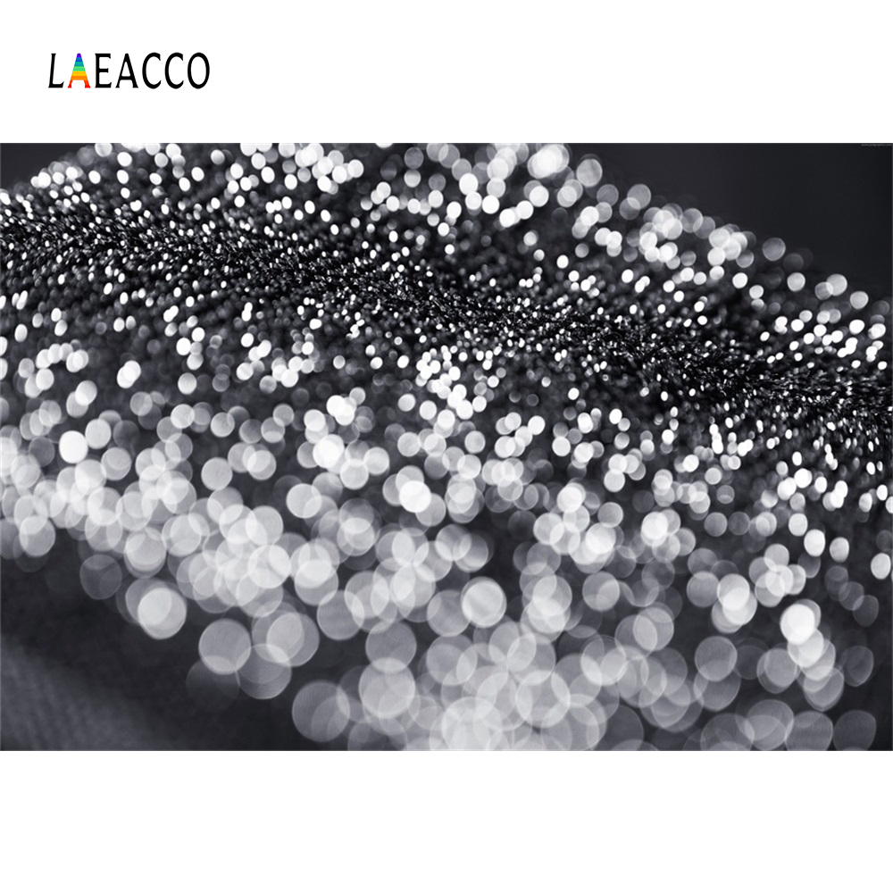 Laeacco Fantasy Light Bokeh Polka Dot Child Portrait Photography Backgrounds Customized Photographic Backdrops For Photo Studio in Background from Consumer Electronics