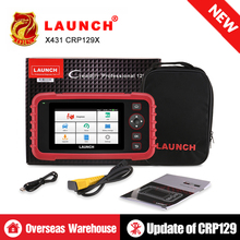 LAUNCH X431 CRP129X OBD2 Scanner Auto Code Reader OBDII Diagnostic Tool ENG AT ABS SRS Oil Brake SAS TMPS ETS Automotive Tool цена
