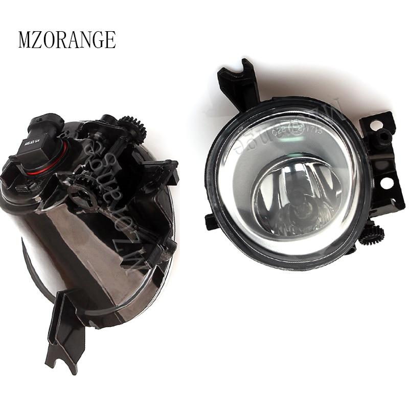 MZORANGE Fog Light With Bulb Front Bumper Fog font b Lamp b font Car Styling Halogen