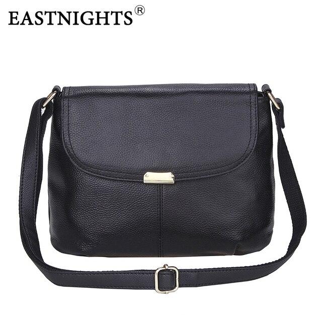 EASTNIGHTS Известных брендов Женщин сумки Натуральная Кожа Сумка Дамы Crossbody Сумки кошельки и сумочки Bolsas Femininas