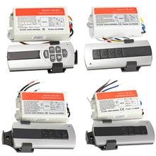 1/2/3/4 Ways ON/OFF 220V Wireless Remote Control Switch Digital Remote Control Switch for Lamp & Light –M25