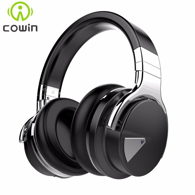 Cowin e-7 cna estéreo auriculares bluetooth inalámbricos con micrófono de cancelación de ruido activa bluetooth headset/auricular para el teléfono