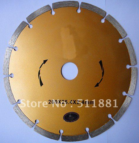 8'' NCCTEC Diamond Dry Saw Cutting Blade |  200MM Road Saw Blade