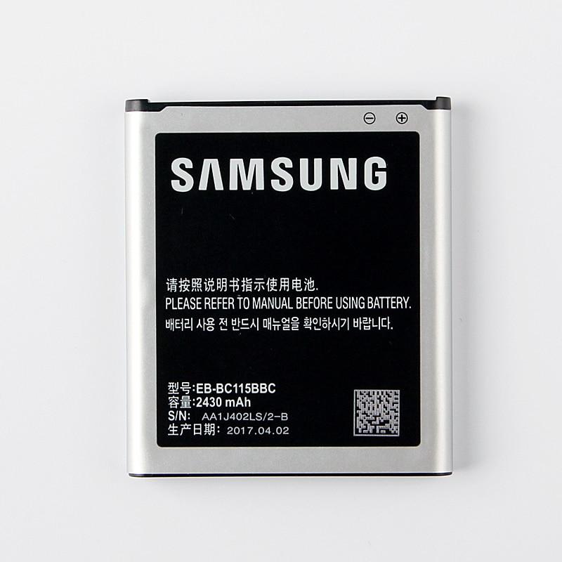 imágenes para 100% Original EB-BC115BBE Batería de Repuesto Para Samsung Galaxy K Zoom C1158 SM-C1116 C1115 Batería Del Teléfono 2430 mAh