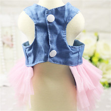 Highly charming yorkie dress with cute back bow